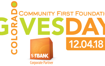 Colorado Gives Day 2018 – TODAY!