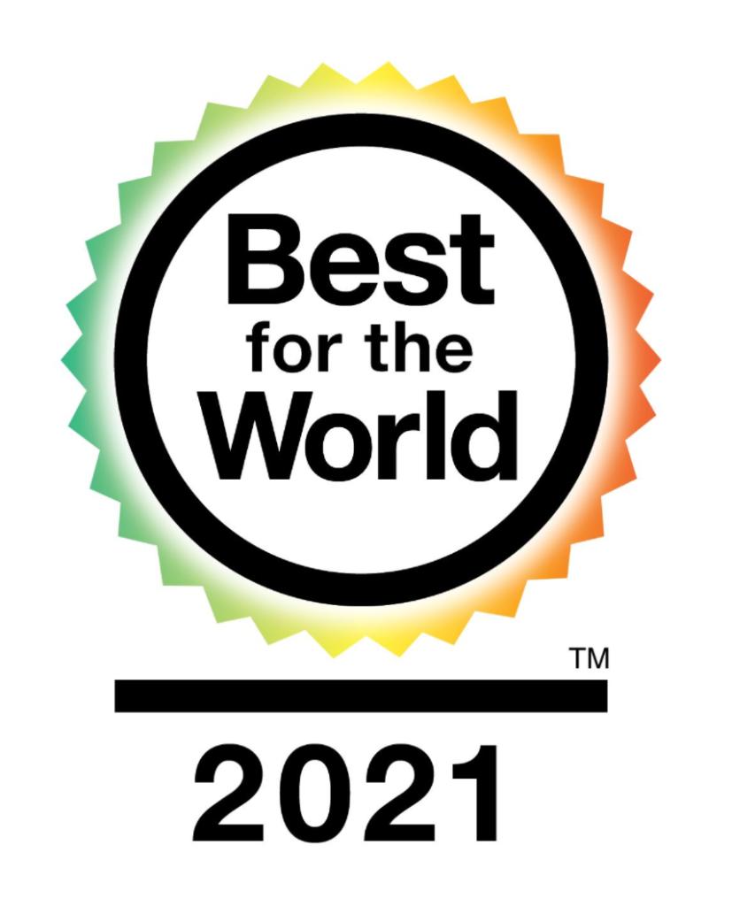Best for the World 2021 logo